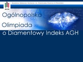 Tomek z 1c walczy o Diamentowy Indeks AGH